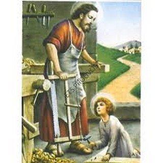 Joseph le Charpentier et son fils adoptif