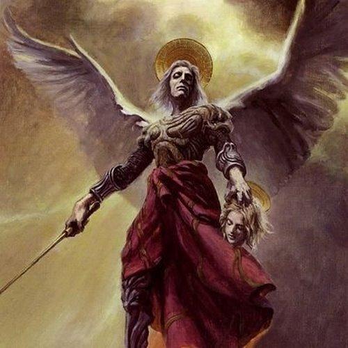 Ange Sammael archange semant la mort