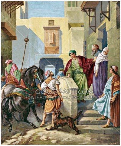 Bibl-Hist- Dans la maison des Apôtes à la Pentecôte à Jérusalem