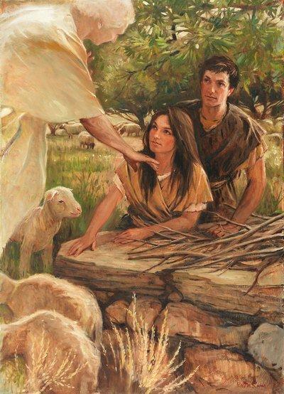 Adam-Eve et l'Ange