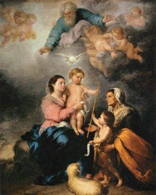 Bibl-Hist-Deux bébés,  Jean le Baptiste et Jésus le Nazôréen